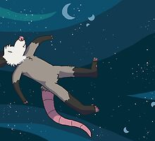space opossum  by Clair C