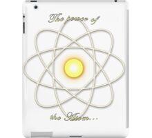 Power of the Atom iPad Case/Skin
