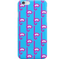 Pink Snorkel - Diver Pattern iPhone Case/Skin