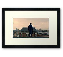 Sherlock Falls Framed Print