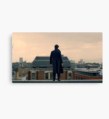 Sherlock Falls Canvas Print