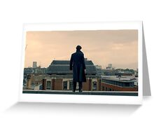Sherlock Falls Greeting Card