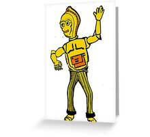 C3-Po Greeting Card