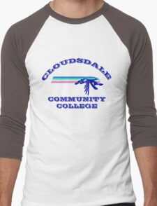 Cloudsdale Community College Men's Baseball ¾ T-Shirt