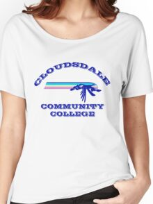 Cloudsdale Community College Women's Relaxed Fit T-Shirt