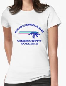 Cloudsdale Community College Womens Fitted T-Shirt