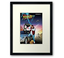 Buck to the Future Framed Print