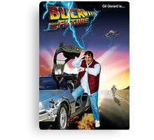 Buck to the Future Canvas Print