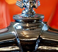 1933 Stutz DV-32 Five Passenger Sedan Hood Ornament by Jill Reger