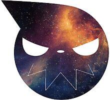Galaxy Soul Eater Logo by ZipZapAttack