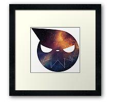 Galaxy Soul Eater Logo Framed Print