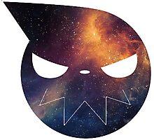 Galaxy Soul Eater Logo Photographic Print