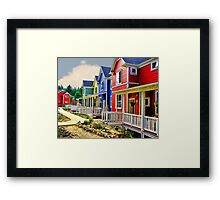 Crayon Community Framed Print