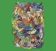 Gen I - Pokemaniacal Colour Kids Clothes