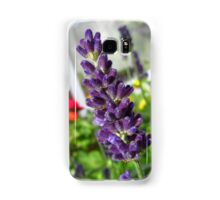 Purple Flower Samsung Galaxy Case/Skin