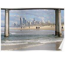 Surfers Paradise Skyline Poster