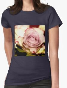 roses portrait Womens Fitted T-Shirt