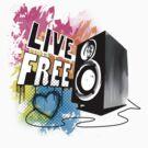 Live Free (Fresh White) by emxacloud
