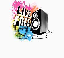 Live Free (Fresh White) Unisex T-Shirt
