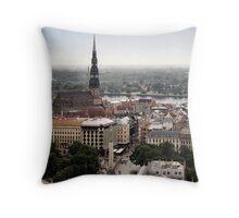 Vecrīga 2008 | Old Riga 2008 Throw Pillow