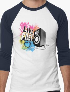 Live Free (Raw Black) T-Shirt