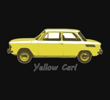 Yellow Car! One Piece - Long Sleeve