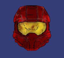 Red Spartan Helmet T-Shirt