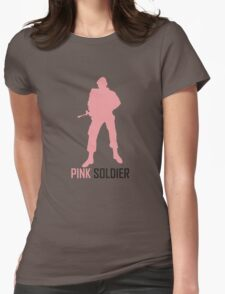 pink soldier Womens Fitted T-Shirt