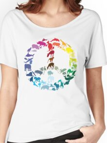 Animals of Peace Women's Relaxed Fit T-Shirt