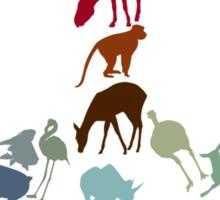 Animals of Peace Sticker