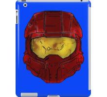 Red Spartan Helmet iPad Case/Skin