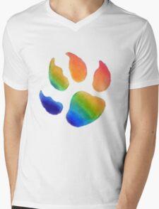 FurPride, Basic, all colours Mens V-Neck T-Shirt