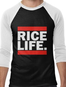 RICE LIFE Men's Baseball ¾ T-Shirt