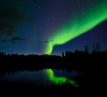 The Northern Lights Sept.3rd/11 by peaceofthenorth