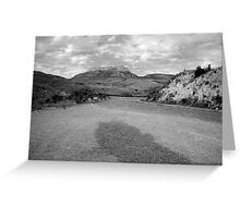 Big Horn Mountain Cloudscape Greeting Card