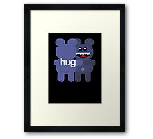 BEAR HUG ART Framed Print