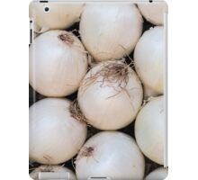 white onion iPad Case/Skin