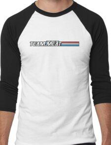 TEAM.MEAT : A Real Meaty Hero Men's Baseball ¾ T-Shirt