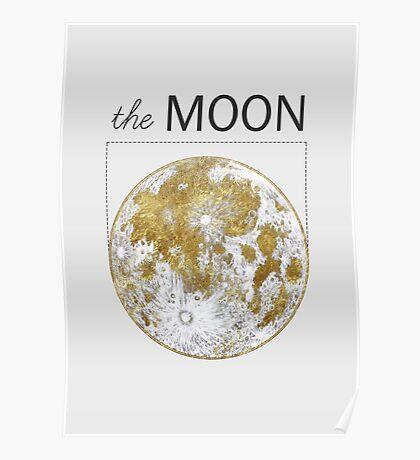 Golden Moon Poster