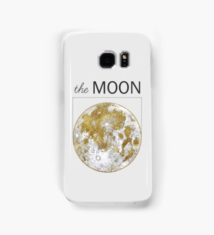 Golden Moon Samsung Galaxy Case/Skin