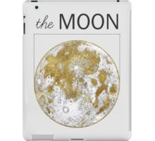 Golden Moon iPad Case/Skin