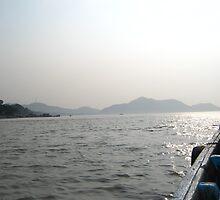 Awesome Brahmaputra River by Tanuj Dutta