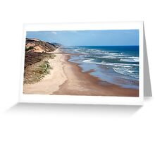 Rapiro Beach - northland, NZ Greeting Card