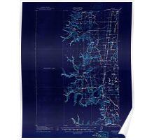 USGS Topo Map Oregon Monroe 282726 1922 62500 Inverted Poster