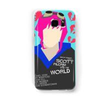 Scott Pilgrim Verses The World - Saul Bass Inspired Poster (Untextured) Samsung Galaxy Case/Skin