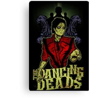 The Dancing Deads Canvas Print