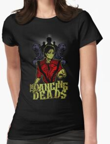 The Dancing Deads Womens Fitted T-Shirt