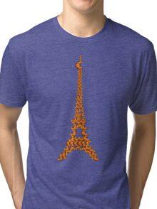 La Tour Des Croissants Tri-blend T-Shirt
