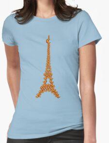 La Tour Des Croissants Womens Fitted T-Shirt