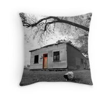 Empty and deserted Throw Pillow